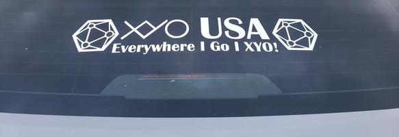 XYO Car Decals